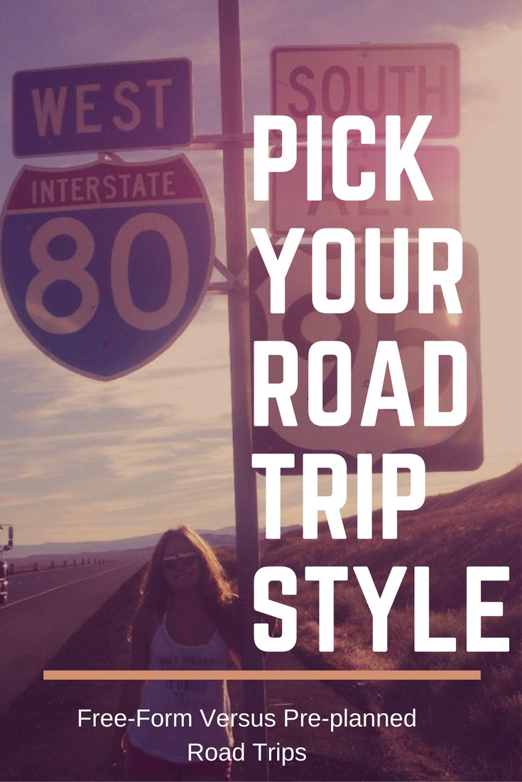 How to Pick Your Road Trip Style...Some of our very favorite trips have been road trips. In fact, our very first trip we took together was a cross country drive. The only question is do you want a free-form or pre-planned style trip? #roadtrip #roadtripstyle
